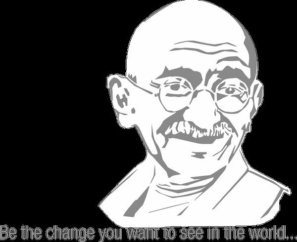 Gandhi Jayanti Free PNG Image