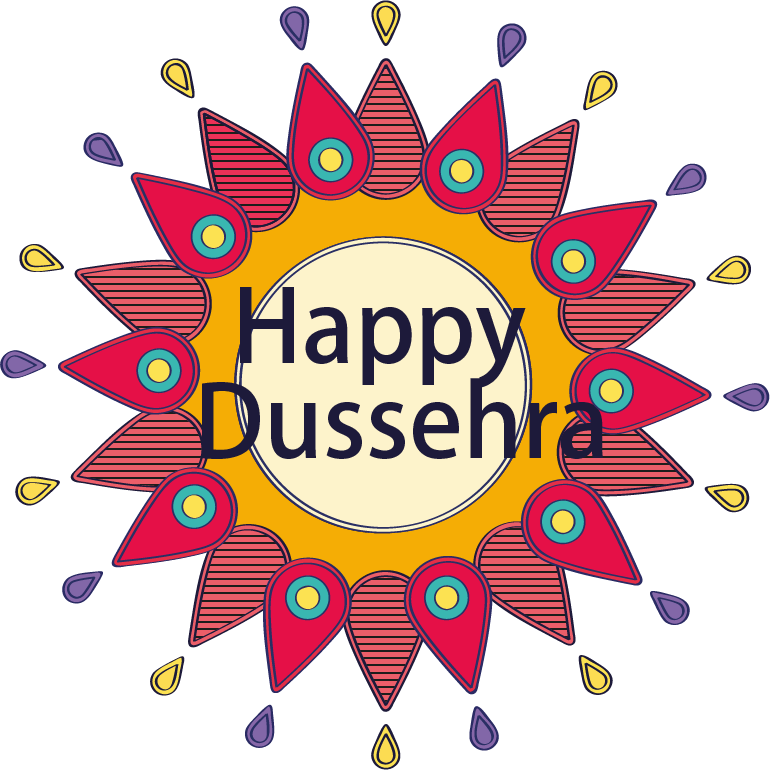 Happy Dussehra Free Download PNG