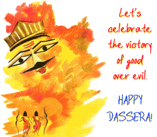 Happy Dussehra Transparent