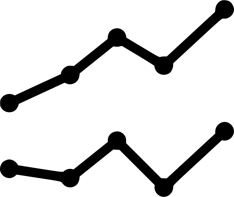 Line Chart Silhouette