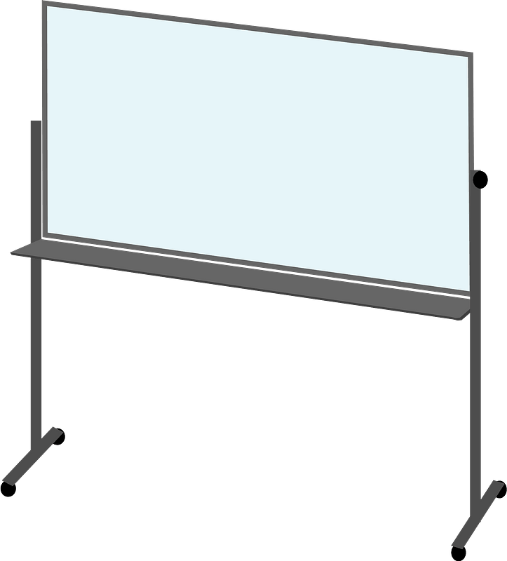 Whiteboard Vector PNG Photo