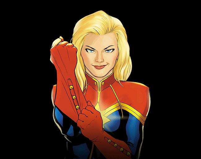 Captain Marvel PNG Image HD