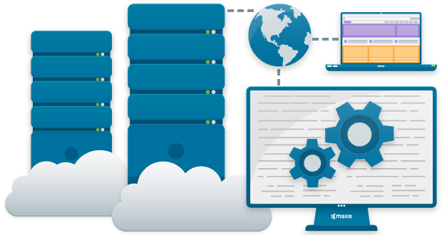 Web Hosting PNG Cutout
