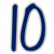 10 Number PNG HD Image