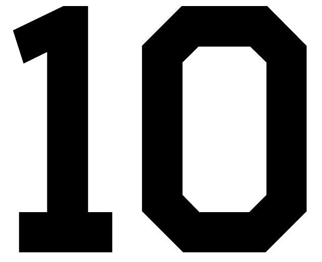 10 Number