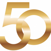 50 Number PNG Image