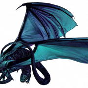 Blue Dragon PNG