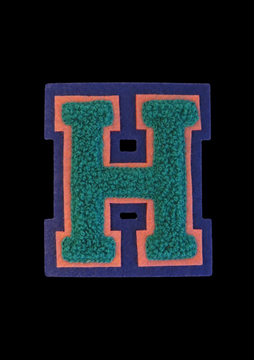 H Letter PNG File