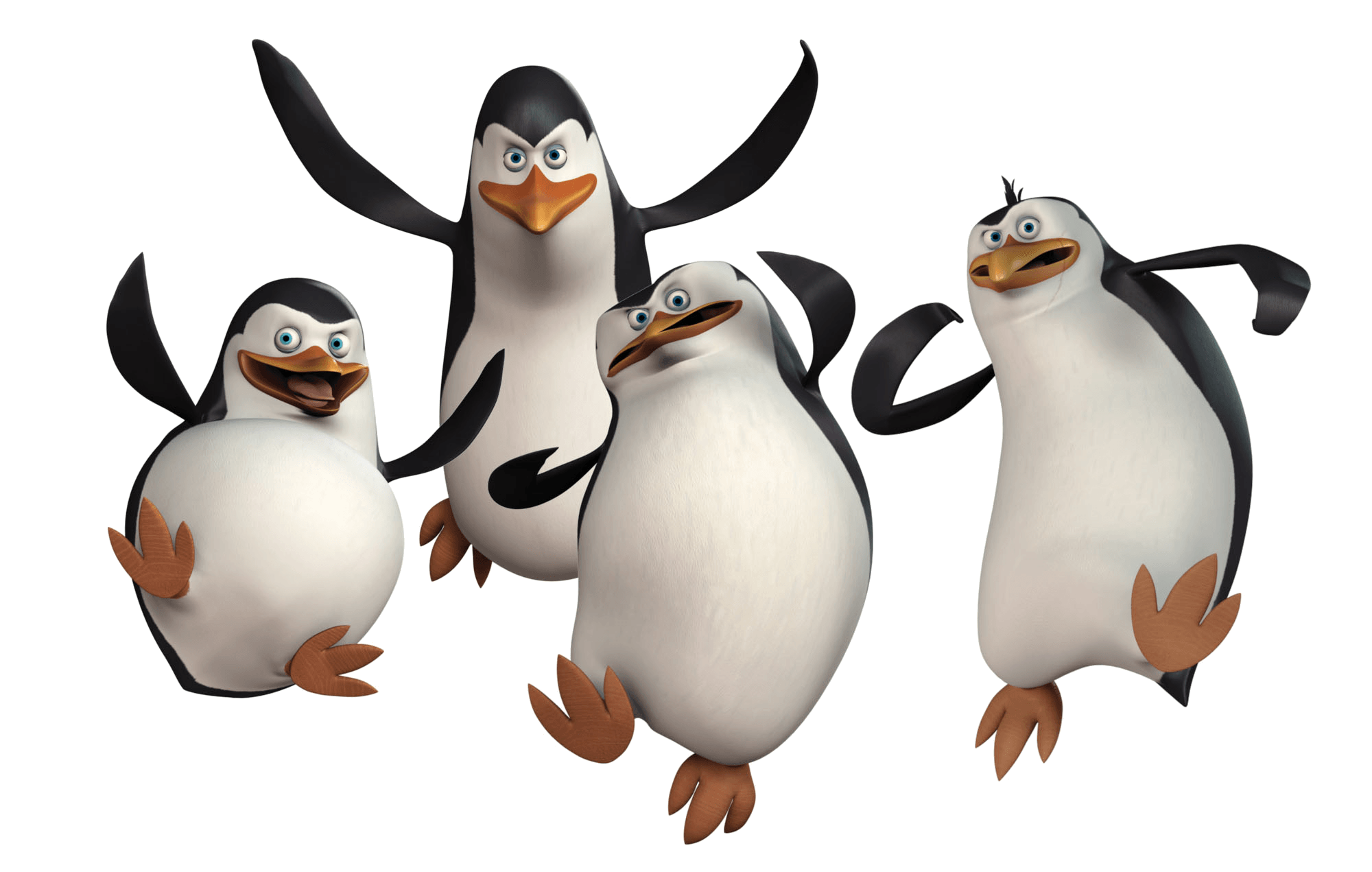 Penguins of Madagascar PNG Clipart
