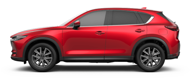 Red Mazda PNG Image