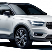 White Volvo PNG Picture