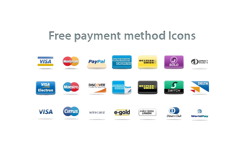 Payment Method PNG HD