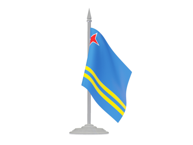 Aruba Flag PNG Picture