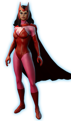 Scarlet Witch PNG File