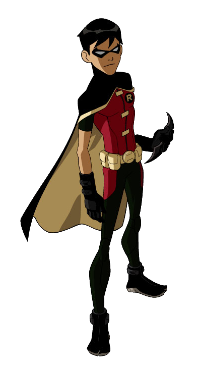 Superhero Robin PNG File