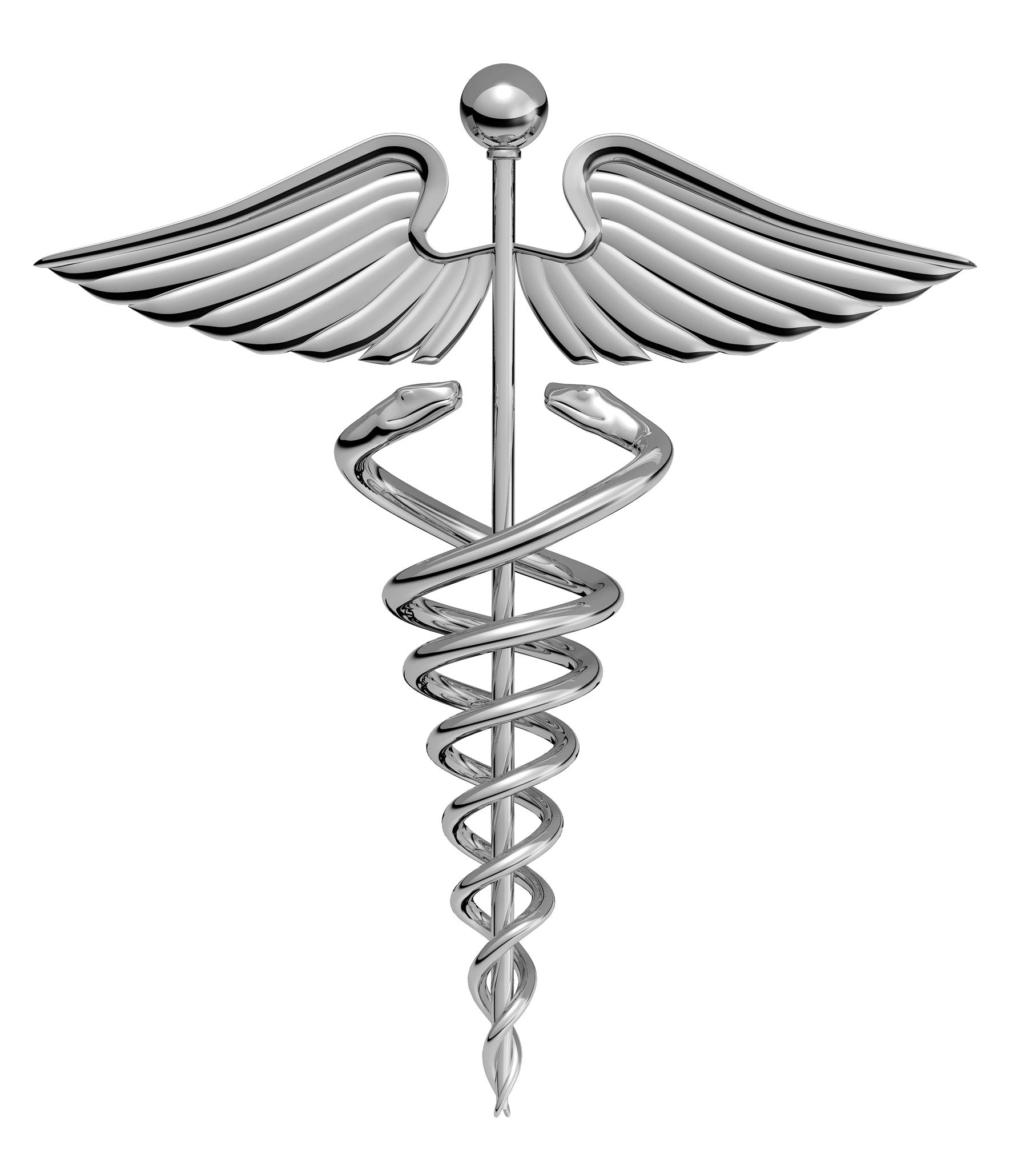 Doctor Symbol Caduceus PNG