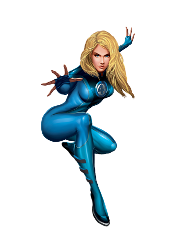 Invisible Woman Transparent