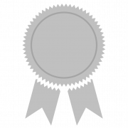 Silver Medal Free PNG Image