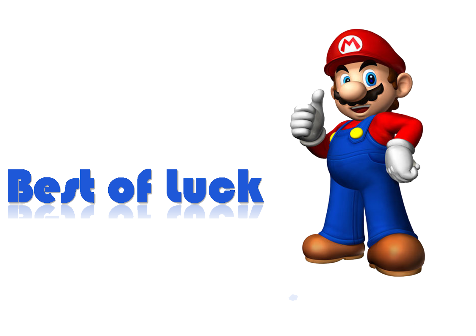 Best of Luck PNG Image