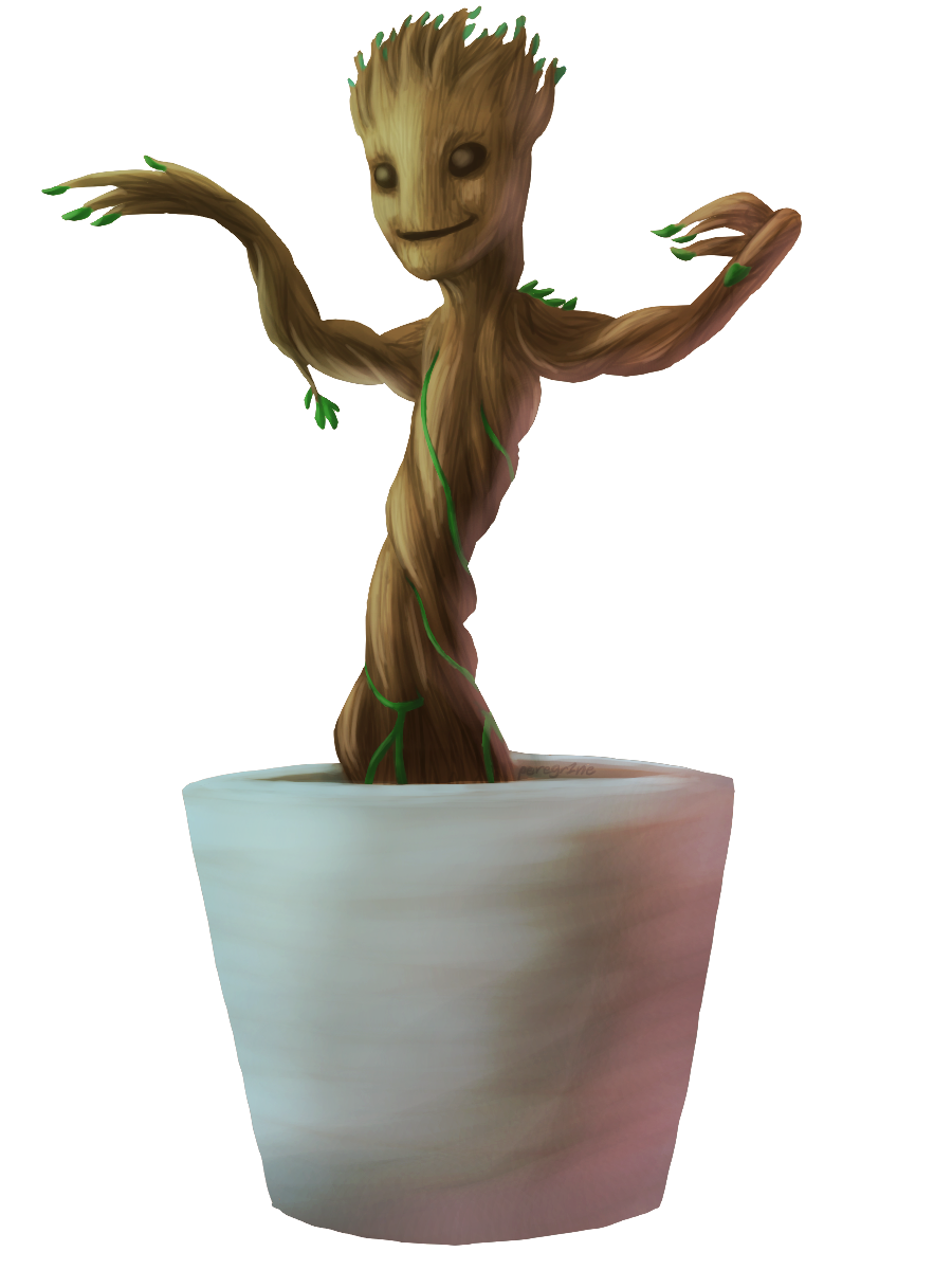 Baby Groot PNG High Quality Image