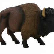 Bison PNG Image File