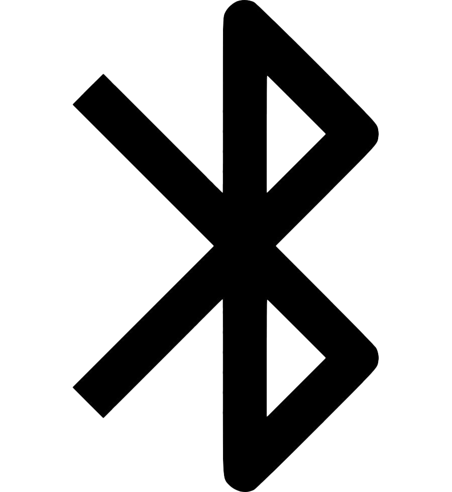 Black Bluetooth PNG Picture