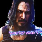 Cyberpunk 2077 Keanu Reeves PNG