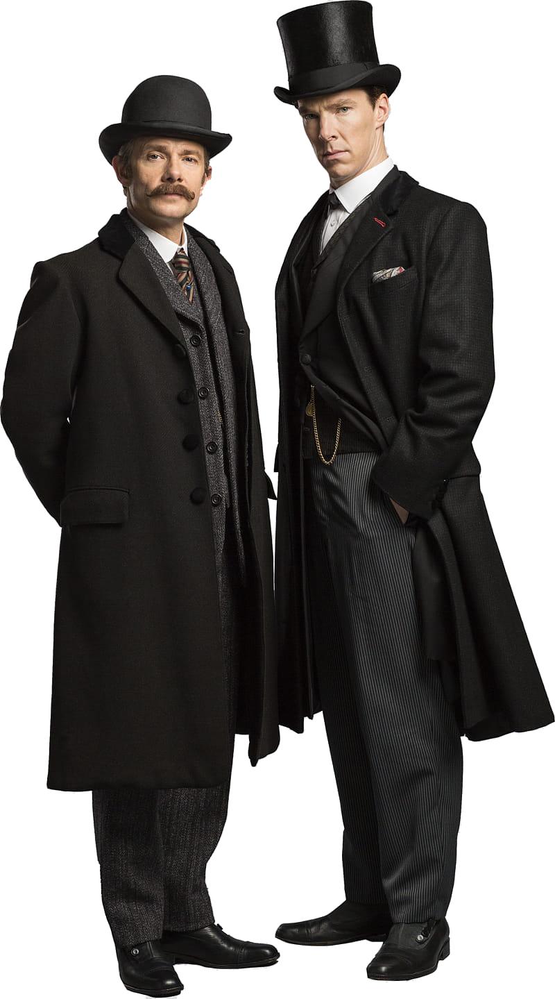 Detective Sherlock Holmes PNG HD Quality