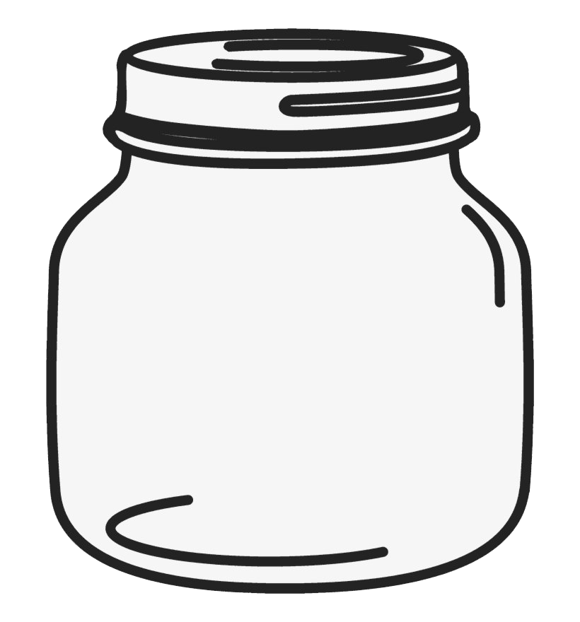 Empty Jar PNG Image