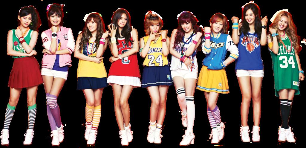 Girls Generation PNG Free Image