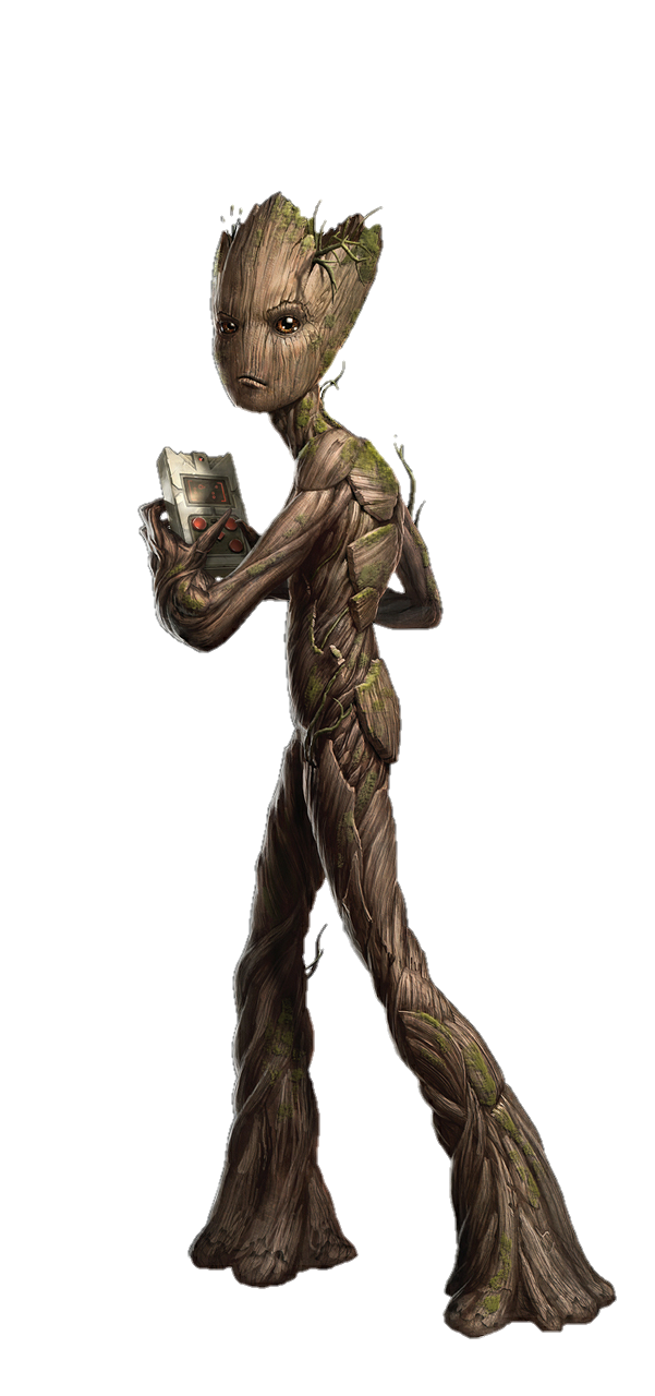I Am Groot PNG Clipart