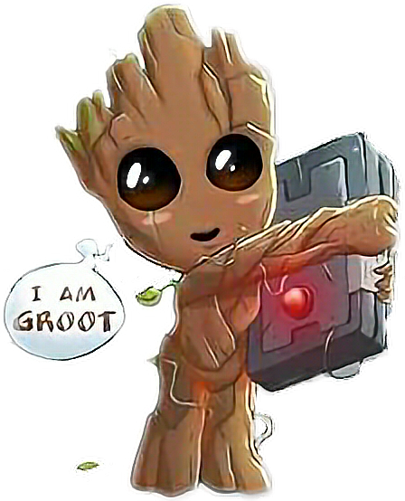 I Am Groot PNG Free Download
