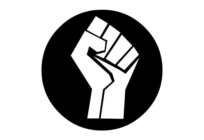 Black Lives Matter Fist PNG File