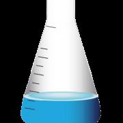 Chemistry Laboratory Flask PNG