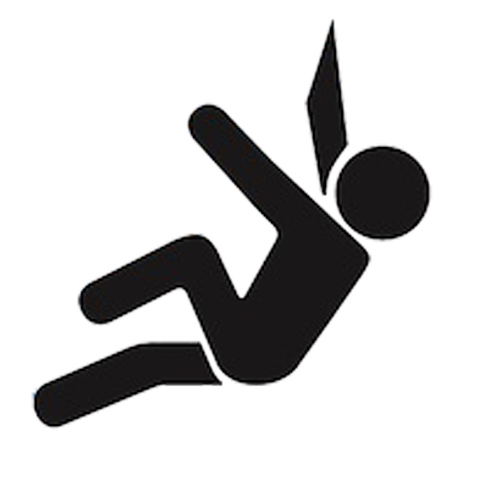 Climbing Silhouette PNG Free Image
