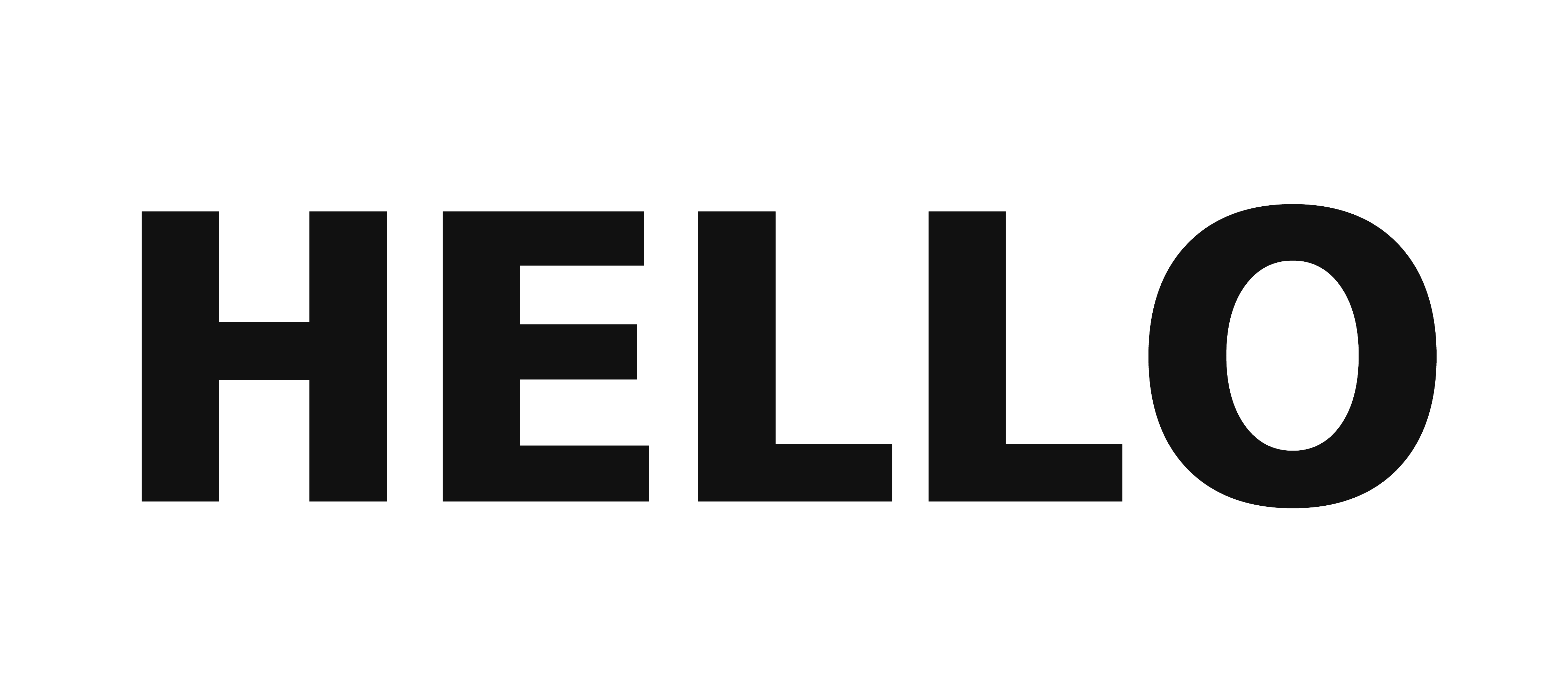 Hello Word PNG HD Image