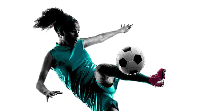 Sport Women Football PNG Image