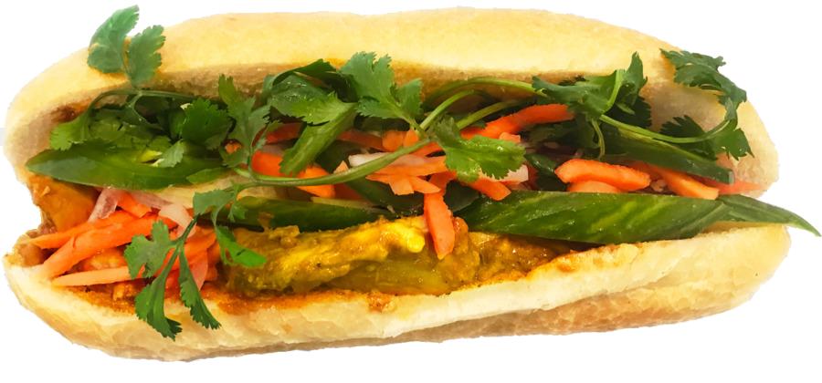 Tofu Burger PNG Picture