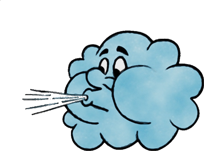 Wind Cloud PNG Picture