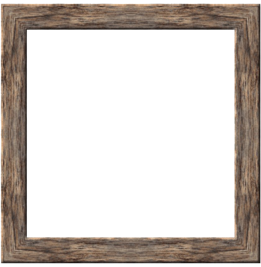 Wooden Frame PNG High Quality Image
