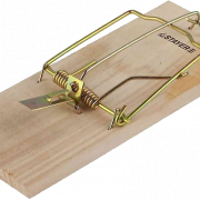 Wooden Mousetrap PNG Free Download