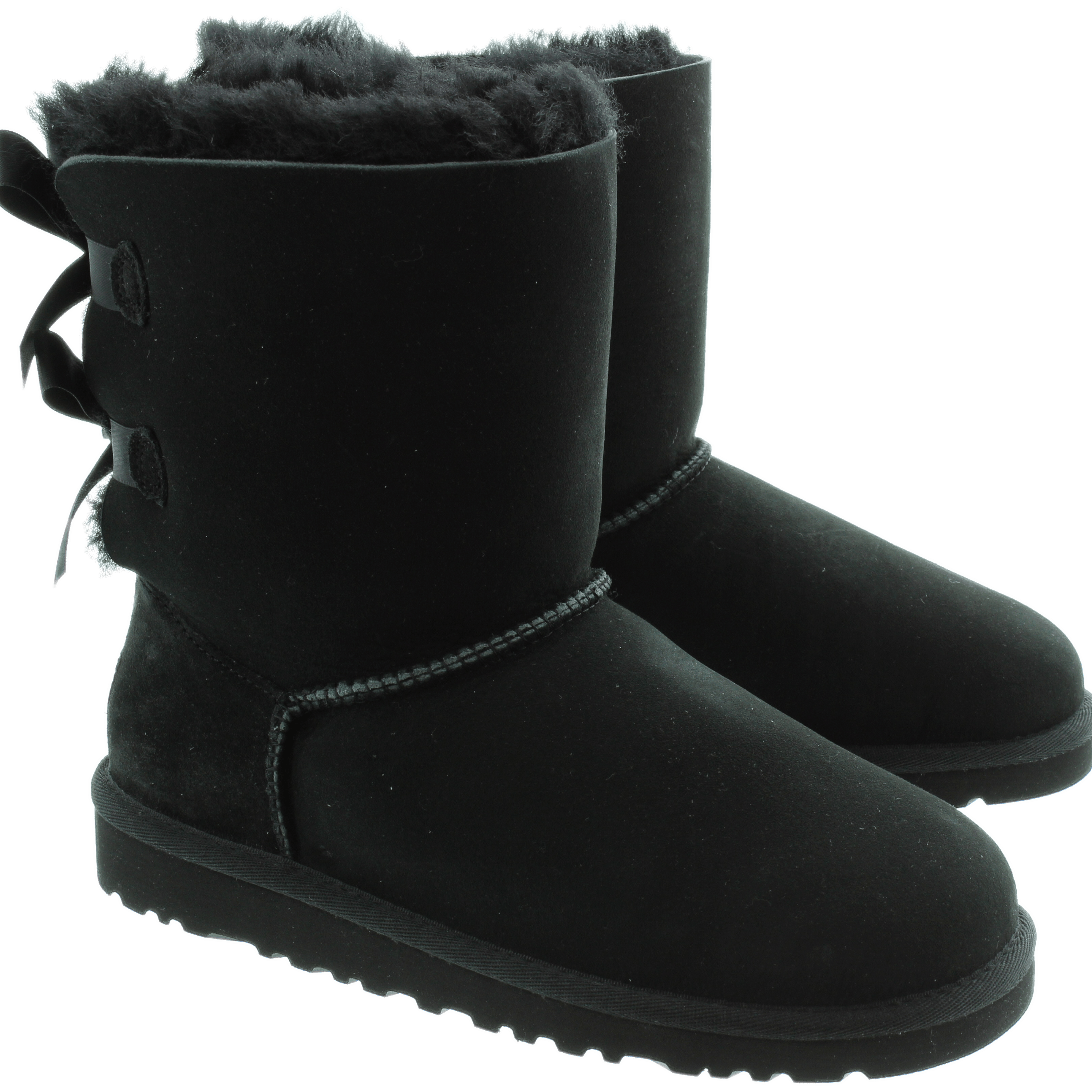 Black Winter Boot PNG Image