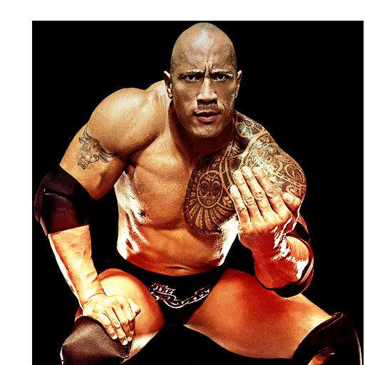 The Rock Wrestler PNG Free Download