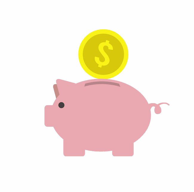 Coins Piggy Bank Transparent