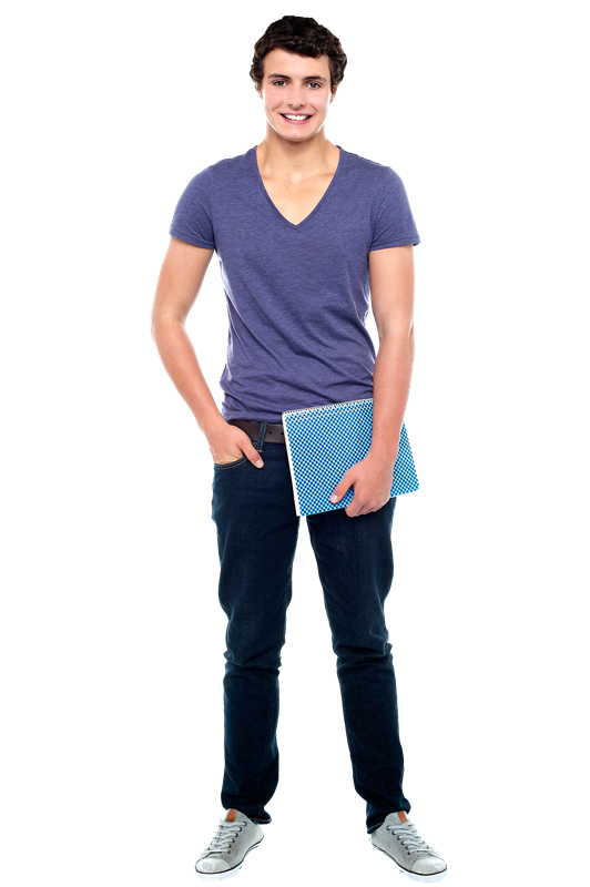 College Student PNG File