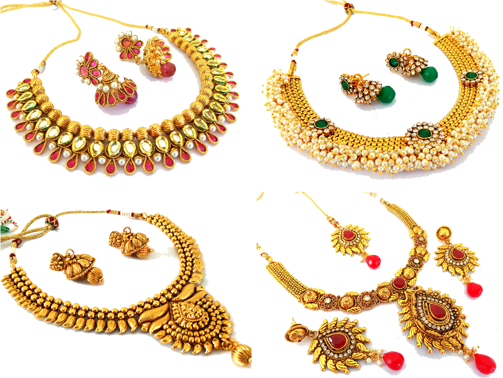 Gold Jewellery PNG Download Image