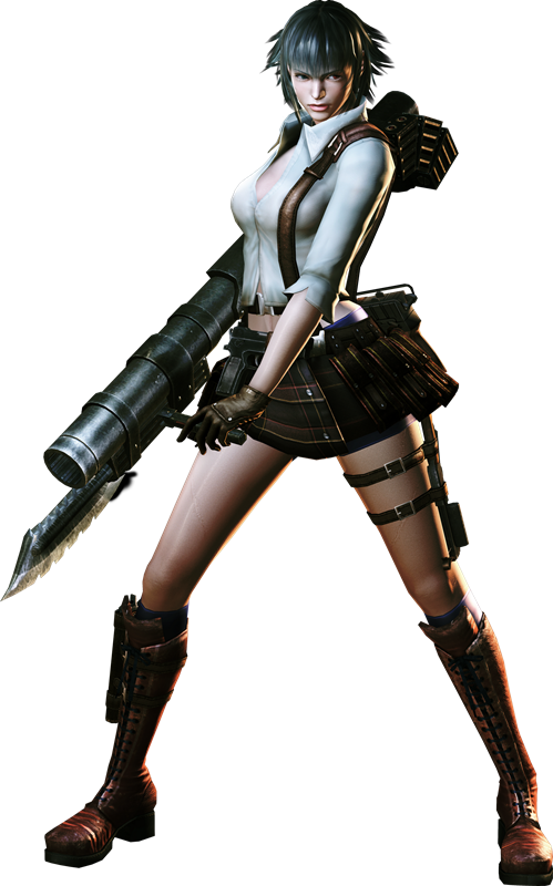 Devil May Cry Character Transparent