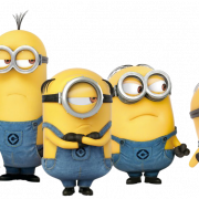 Happy Minions PNG Photo