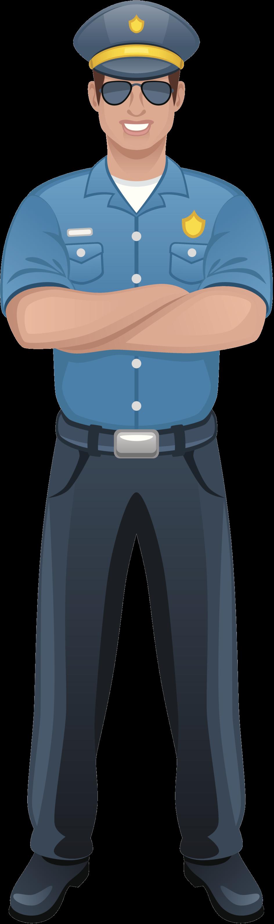 Policeman Transparent Free PNG