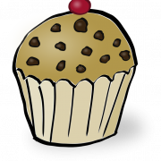 Vector Muffin PNG Clipart